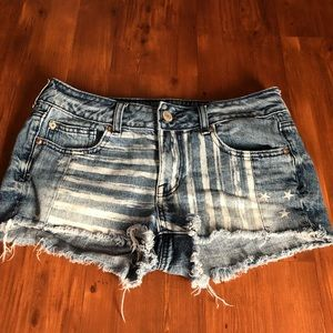 American Eagle outfitters Jean shorts size 6
